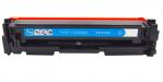 Картридж CF411A, голубой